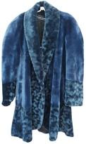 Jean Louis Scherrer Jean-louis Scherrer Blue Coat for Women Vintage