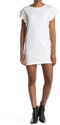 AllSaints Senna Adelaide Ruffled T-Shirt Dress