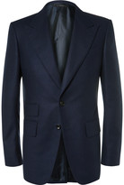 Tom Ford - Blue Wool-flannel Suit Jacket