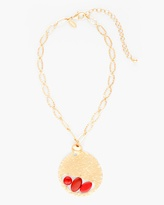 Chico's Farrah Short Pendant Necklace