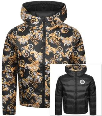 Versace Reversible Jacket Black