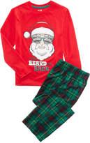 Max & Olivia Santa Beard Pajama Set, Little Boys (4-7) & Big Boys (8-20), Created for Macy's
