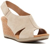 Clarks Helio Float 4 Platform Wedge Sandal - Wide Width Available