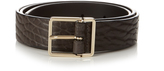 Paul Smith Slim debossed-leather belt