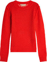 81 Hours Canice Ajour Cashmere Pullover