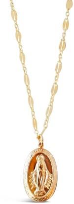 Glamrocks Jewelry Large Virgin Mary Necklace