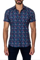 Jared Lang Short Sleeve Semi-Fitted Heart Shirt