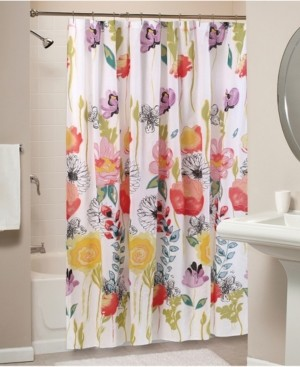 Greenland Home Fashions Watercolor Dream Bath Shower Curtain Bedding