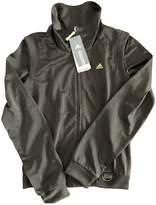 adidas Khaki Leather Jacket for Women
