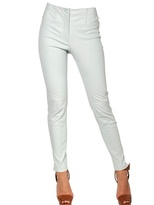 Thierry Mugler Stretch Nappa Leather Trousers