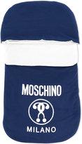 Moschino Kids - logo sleep bag - kids - Cotton/Spandex/Elastane - One Size