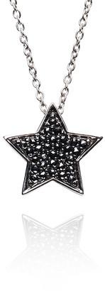 Alinka Jewellery Stasia Necklace Black Diamonds
