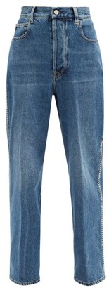Golden Goose Kim Studded Straight-leg Jeans - Denim