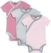 Skip Hop Petite Triangles Bodysuit Set (Baby) - Pink-Newborn