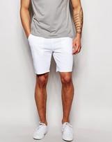 Asos Jersey Shorts In White
