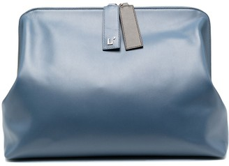 L'Autre Chose Medium Leather Clutch Bag