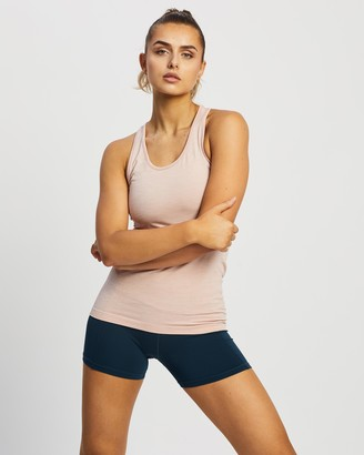 Sweaty Betty Women's Pink Muscle Tops - Athlete Seamless Workout Vest - Size S at The Iconic