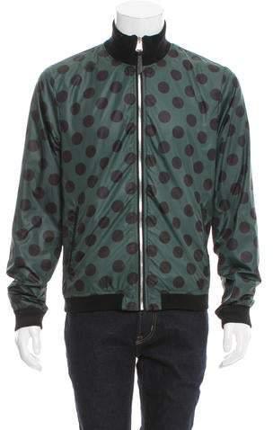 Dolce & Gabbana Reversible Polka Dot Jacket