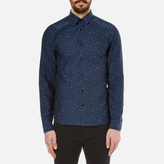 Kenzo Charms Tonal Jacquard Shirt Midnight