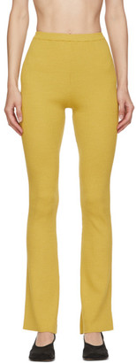 Rokh Yellow Apartment Lounge Pants