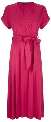 James Lakeland Top Wrap Midi Dress