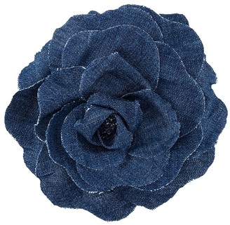 Philosophy di Lorenzo Serafini Denim Floral Brooch