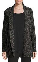 Eileen Fisher Tweedy Knit Boyfriend Blazer