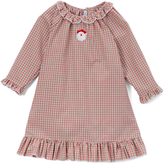 Sweet Dreams Red & Green Plaid Santa Nightgown - Infant, Toddler & Girls