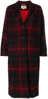 Bellerose tartan check coat