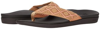 Reef Ortho-Woven (Coral) Women's Sandals