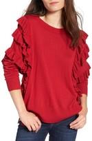 BP Women's Ruffle Pullover