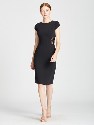 Halston Slim Fit Cocktail Dress
