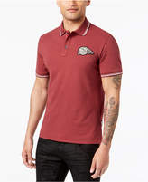 Just Cavalli Men's Tipped Logo-Patch Polo