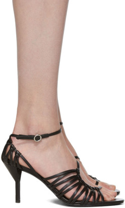 3.1 Phillip Lim Black Strappy Lily Sandals