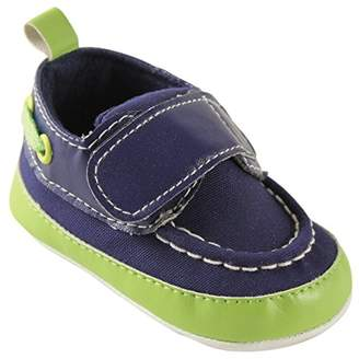 Luvable Friends Bright Boys Crib Boat Shoes (Infant)