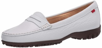 Marc Joseph New York Women's Leather Made in Brazil Lightweight Union Golf Performance Shoe