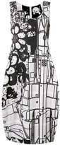 Comme des Garcons printed tank dress