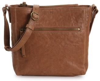Lucky Brand Eddo Leather Crossbody Bag