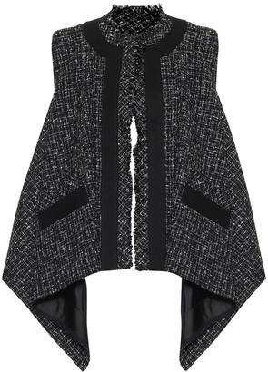 Sacai Tweed vest