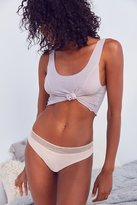 Urban Outfitters Crossed Lace Thong