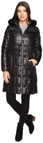 Andrew Marc Julia 37 Laquer Puffer Faux Fur Coat Women's Coat