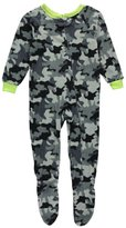 "Quad Seven Little Boys' ""Bedtime Camo"" Footed Pajamas"