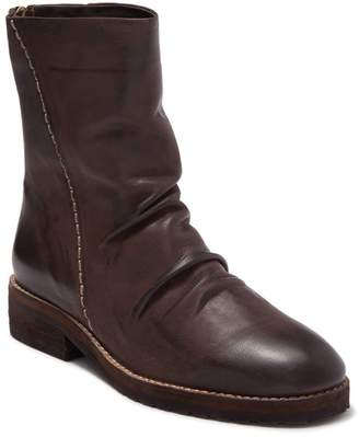 Antelope Exposed Stitch Ruched Boot