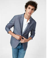 Express Slub Linen-cotton Blazer