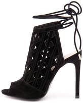 Wanted Lena-wn Black Sandals Womens Shoes Dress Heeled Sandals