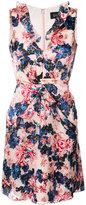 Saloni tigerlily floral print dress