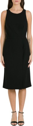 Givenchy Wool Crepe Sleeveless Dress