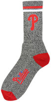 For Bare Feet Philadelphia Phillies Heathered Crew Socks