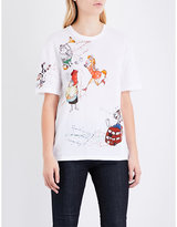Burberry Sketch Cotton-jersey T-shirt