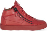 Giuseppe Zanotti Mid top leather trainers